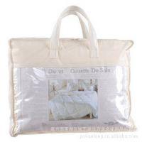 订做环何印刷棉被包装袋,pvc透明袋,塑料包装袋,钢丝包,家纺包装