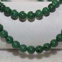 厂家直销 天然松石项链串珠材料 青岛厂家直销绿松石高档饰品批发