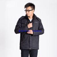 秋冬韩版男士休闲外套2 灰鸭绒保暖 合体长袖立领 男式羽绒服123