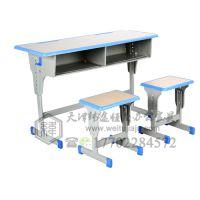 天津钢木课桌椅,天津单人学生课桌椅,天津课桌椅尺寸