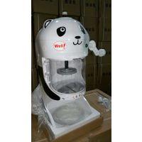 冰友牌 台湾款 绵绵冰 刨冰机 碎冰机 刨雪花冰 熊猫式