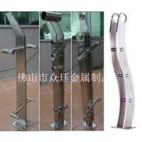 工程装修不锈钢立柱,室外实心钢板不锈钢立柱