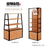 济南业神制造货架厂家直销面包架|面包展示架|便利店货架|钢木货架