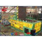 Push Out Method Metal Scrap Baling Machine With 125 Ton Press Force