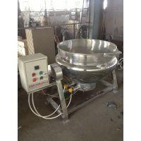 供应电加热可倾式可搅拌夹层锅 华远机械 HUJC-400L
