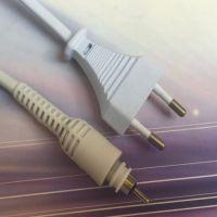 厂家生产电子直发器神梳电源线 旋转头电源线 直发器电源线