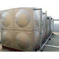 城固304不锈钢水箱 城固不锈钢焊接式水箱 消防水箱 RJ-S84