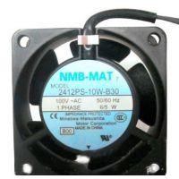 原装正品NMB-MAT 2412PS-10W-B30 AC100V60*28MM工控机/工业设备用