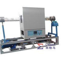 管式电炉、西格马实验电炉(图)、科研实验室用管式电炉