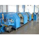 PLC Double Twist Cable Stranding Machine , Braided Copper Wire Stranding Machine