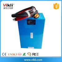 供应12v太阳能一体化路灯锂电池100ah磷酸铁锂电池
