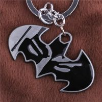 批发蝙蝠侠标志钥匙扣挂件 精工版 电影周边 ebay 速卖通热销产品