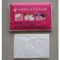 厂家专业定做广告纸巾盒抽纸盒 抽纸定做广告餐巾纸定做清风材质
