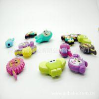 大量批发:滴胶公仔 PVC卡通公仔 可爱硅胶玩具