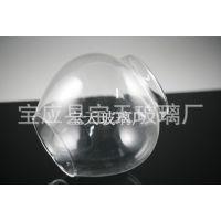 精美高硼矽玻璃罩工藝品透明燈罩玻璃燈具弧形玻璃罩