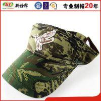 迷彩夏日空顶帽子定做批发夏日飞鸟男女军训帽子旅游户外休闲帽子