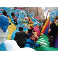 新款充气城堡价格 户外儿童充气滑梯 广场充气蹦蹦床游乐设备厂家