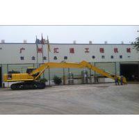 13~24米挖机两段三段加长臂生产厂家,pc卡特小松神钢加长臂报价