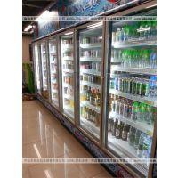 便利店风冷多门饮料冷藏展示柜 雅淇保鲜柜