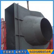 齐鑫风机进口风箱 大型锅炉风机排粉风箱 脱硫脱硝圆形挡板门