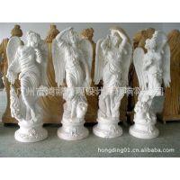 供应玻璃钢欧式天使雕塑、欧式人物雕塑