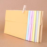 3号西式信封厂家现货批发创意高档无字空白纯彩色平口信封
