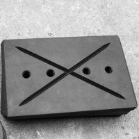 高强度高耐磨尼龙垫块/尼龙滑块/自润滑尼龙块/清障车滑块