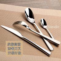 供应高档酒店西餐厅专用餐具用品西餐刀叉勺不锈钢刀叉勺餐具套装批发