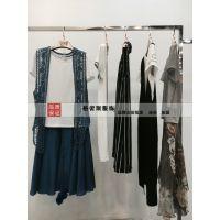 适合北方市场的大码连衣裙汉派女装品牌折扣库存女装批发