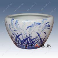 景德镇陶瓷鱼缸价格千火陶瓷鱼缸图片