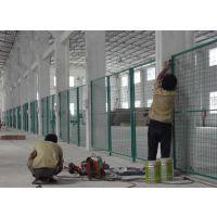 车间隔离铁丝网,飞创护栏网厂专业生产,浸塑焊接13383380113李经理