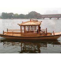 楚风木船专业生产制造木船 旅游观光船 电瓶船
