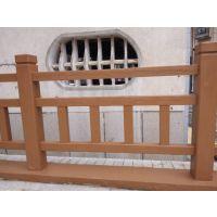 我公司生产的水泥仿木栏杆,河堤桥梁护栏,
