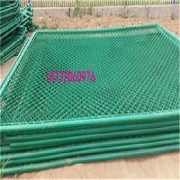 球场护栏网|运动场网围栏|体育场护栏网|pvc包胶菱形网