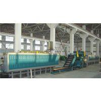 金力泰电炉厂网带式中高温热处理炉生产线机组热销西南广东等地