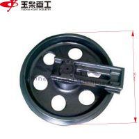 Yuchai玉柴挖掘机YC60履带引导轮行走轮配件