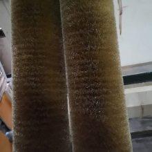 专业生产毛刷辊用于食品 纺织 钢材 铝材 木门 木地板等行业抛光