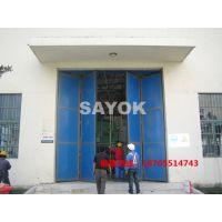 工厂折叠门/合肥工厂折叠门/不锈钢电动折叠门/铝型材电动折叠门