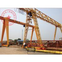 冠华室外轨道式跨度19米25吨龙门吊【25t单梁龙门吊多少钱】