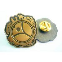 天河品牌标志胸章,广告胸针设计批发厂