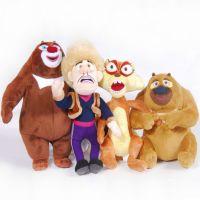 正品熊出没毛绒玩具批发 熊大熊二毛绒玩具 商超专柜多多堡品牌