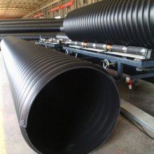 市政埋地雨水排水DN1400钢带增强聚乙烯螺旋波纹管