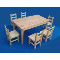 四川幼儿园家具实木幼儿课桌椅