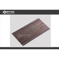 优质304不锈钢镜面板蚀刻树皮纹 1.0mm钢板电镀茶色