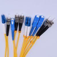 吉林厂家专业生产FC-SC 电信级单芯单模2.0/3.0光纤跳线 尾纤5米