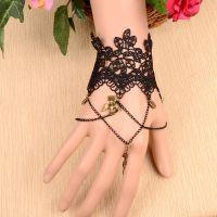 黑色蕾丝手链精品馆 收藏款 可爱坠链韩版 义乌饰品批发