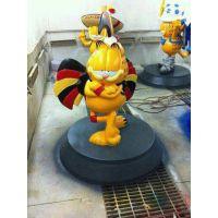 加菲猫模型出租加菲猫迪士尼卡通人物模型租赁