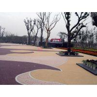 杭州,平阳台州,丽水胶粘石透水石地坪,艺术压花地坪施工方案