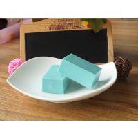 Diy手工巧克力必备原料 纯可可脂巧克力块蓝色蓝莓味100g原装砖