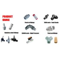 AIGNEP安耐气动元器件 压缩空气杰出的解决方案,产品范围:转接头、功能接头、空压管路